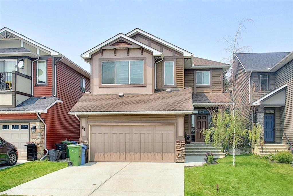 Main Photo: 67 Auburn Glen Heights SE in Calgary: Auburn Bay Detached for sale : MLS®# A1128879