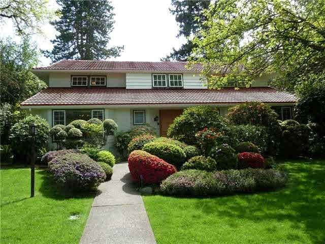 Main Photo: 1592 NANTON AVENUE in Vancouver West: Shaughnessy House for sale ()  : MLS®# V1037574