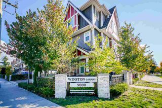 "Photo 1: 7 9000 GENERAL CURRIE Road in Richmond: McLennan North Townhouse for sale in ""WINSTON GARDENS"" : MLS®# R2512130"