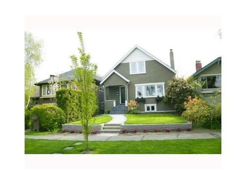 Main Photo: 3830 18TH Ave W in Vancouver West: Dunbar Home for sale ()  : MLS®# V934696