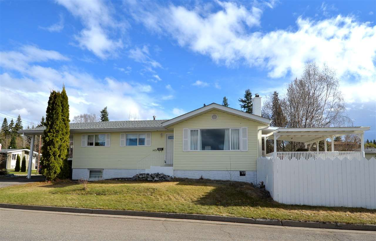 "Main Photo: 1475 PEARSON Avenue in Prince George: VLA House for sale in ""UPPER VLA / ASSMAN"" (PG City Central (Zone 72))  : MLS®# R2161897"