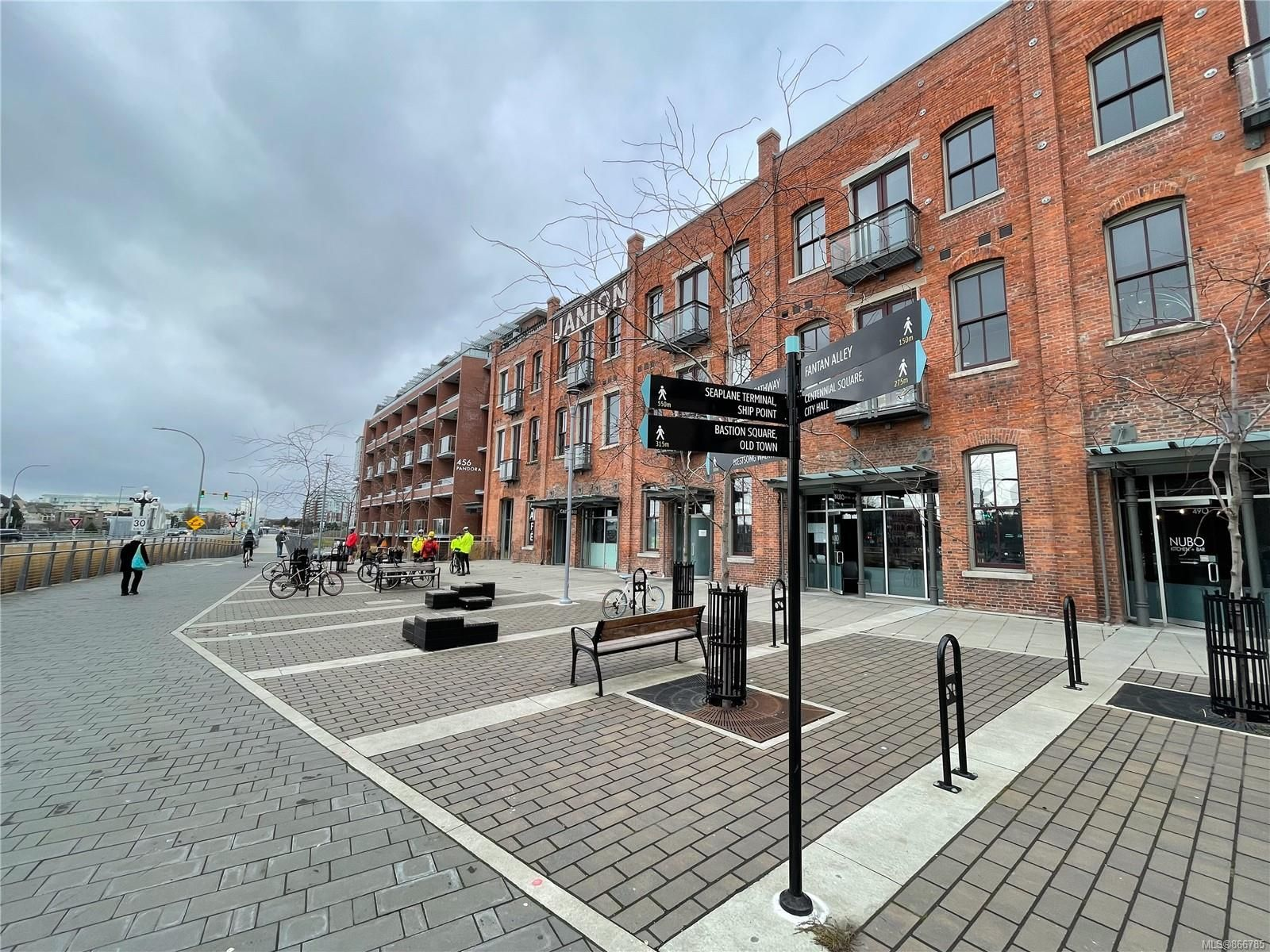 Main Photo: 407 456 Pandora Ave in : Vi Downtown Condo for sale (Victoria)  : MLS®# 866785