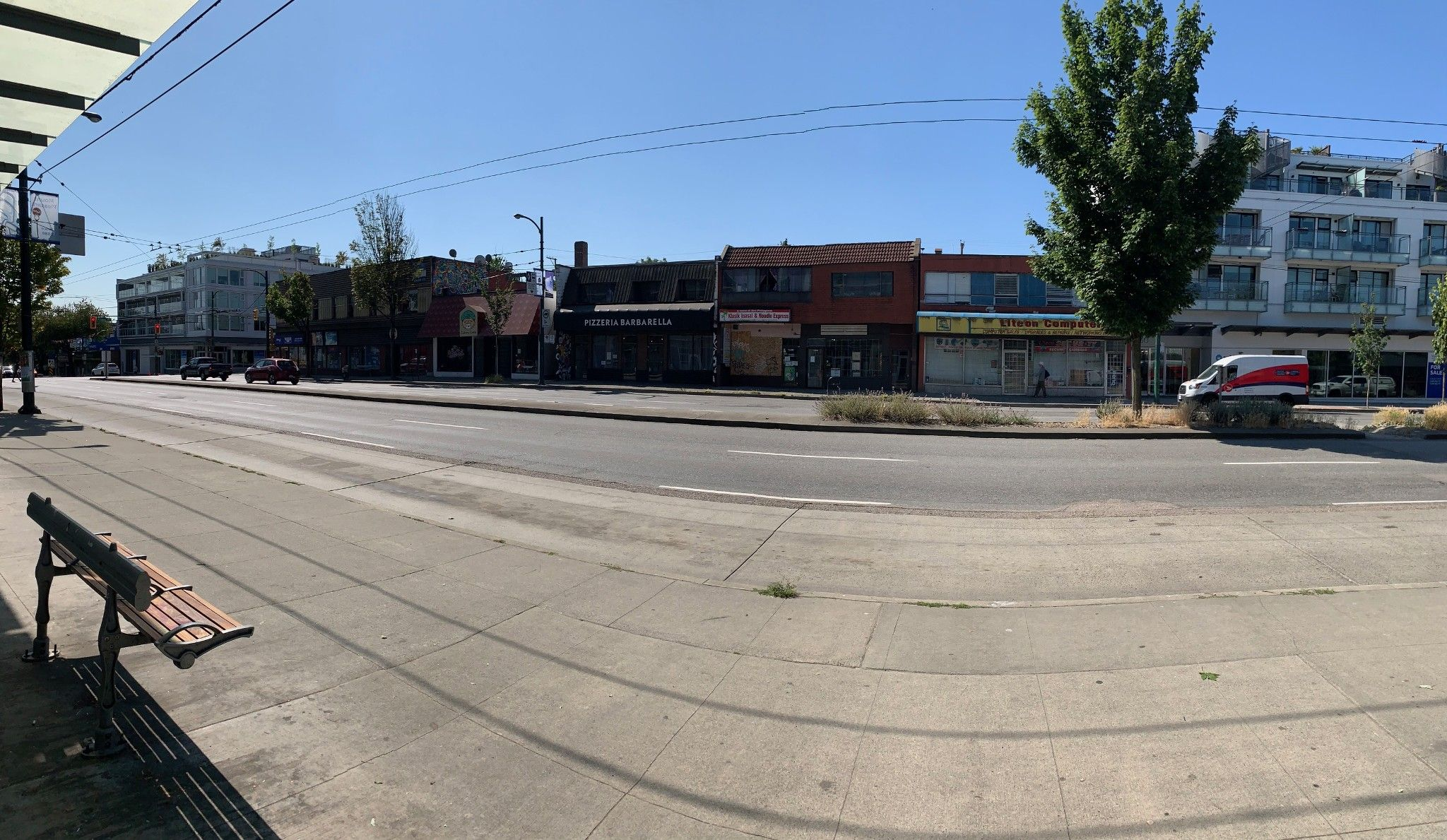 Main Photo: 654 670 E Broadway in Vancouver: Mount Pleasant VE Multi-Family Commercial for sale (Vancouver East)