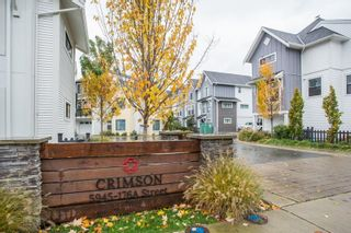 """Main Photo: 40 5945 176A Street in Surrey: Cloverdale BC Townhouse for sale in """"Crimson"""" (Cloverdale)  : MLS®# R2629030"""
