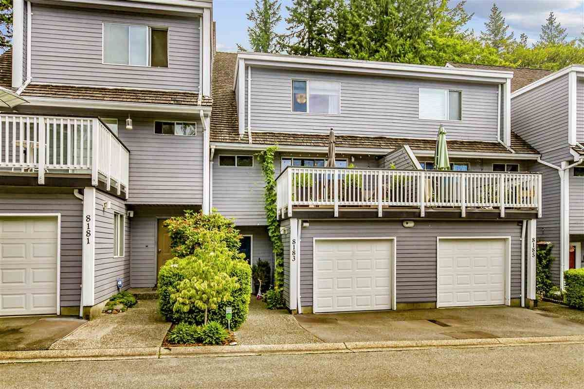 """Main Photo: 8183 FOREST GROVE Drive in Burnaby: Forest Hills BN Townhouse for sale in """"Wembley Estate"""" (Burnaby North)  : MLS®# R2478592"""