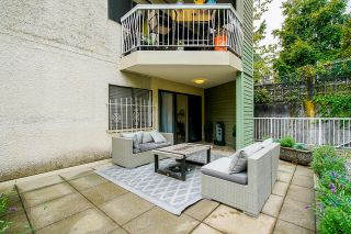 """Photo 28: 106 327 NINTH Street in New Westminster: Uptown NW Condo for sale in """"Kennedy Manor"""" : MLS®# R2621900"""