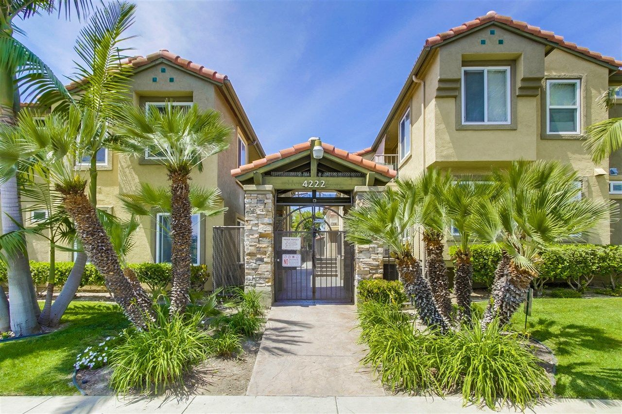 Main Photo: CITY HEIGHTS Condo for sale : 2 bedrooms : 4222 Menlo Ave #7 in San Diego