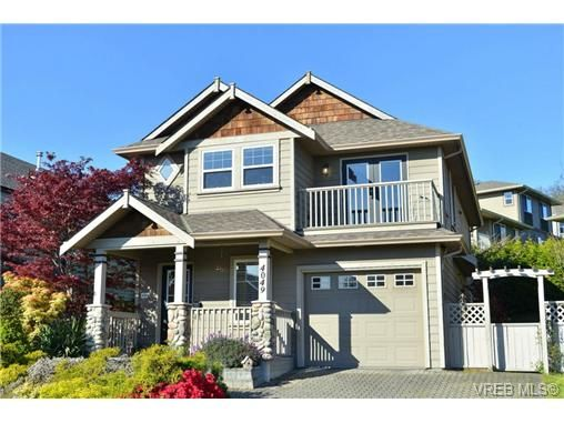 Main Photo: 4049 Blackberry Lane in VICTORIA: SE High Quadra House for sale (Saanich East)  : MLS®# 698005