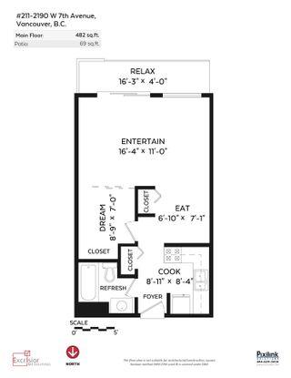 Photo 16: 211 2190 W 7TH Avenue in Vancouver: Kitsilano Condo for sale (Vancouver West)  : MLS®# R2550651