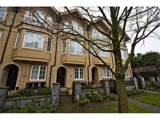 Main Photo: 928 W 13TH Avenue in Vancouver: Fairview VW Townhouse for sale (Vancouver West)  : MLS®# V1051000