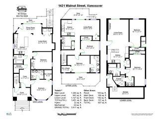 Photo 19: 1421 Walnut Street in Vancouver West: Kitsilano Triplex for sale : MLS®# V1037289