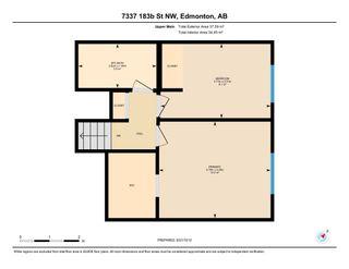 Photo 50: 7337 183B Street in Edmonton: Zone 20 House for sale : MLS®# E4259268