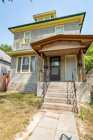 Photo 1: 441 Pritchard Avenue in Winnipeg: North End Residential for sale (4A)  : MLS®# 202118729