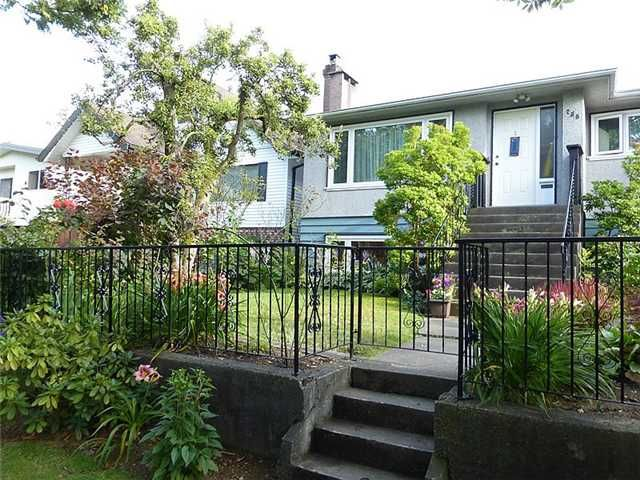 Main Photo: 756 E 23RD Avenue in Vancouver: Fraser VE House for sale (Vancouver East)  : MLS®# V1074088