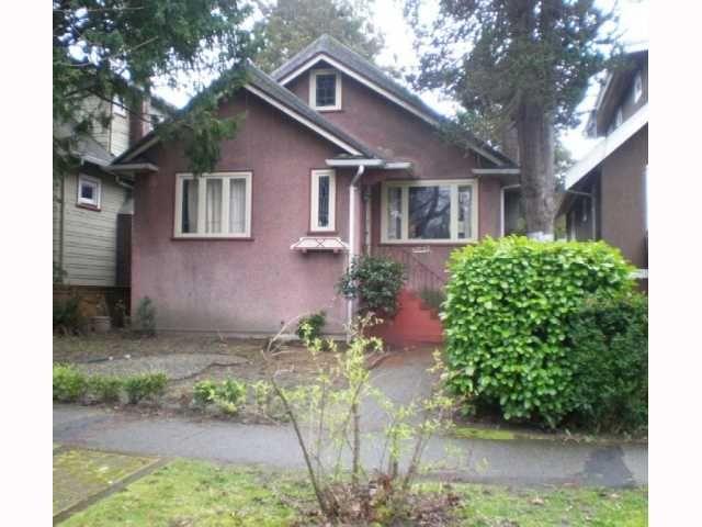 Main Photo: 3442 W 6TH AV in : Kitsilano House for sale : MLS®# V818563