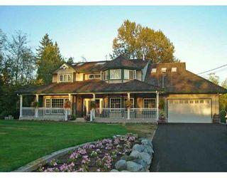 Main Photo: 27610 104TH Ave in Maple Ridge: Whonnock House for sale : MLS®# V618706