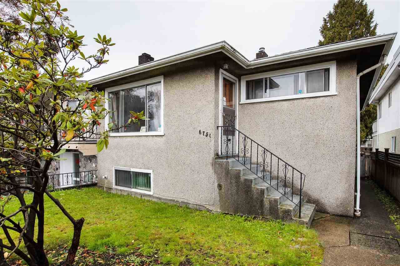 Main Photo: 6751 KNIGHT Street in Vancouver: South Vancouver House for sale (Vancouver East)  : MLS®# R2563272