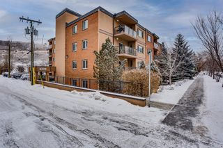 Photo 2: 106 728 3 Avenue NW in Calgary: Sunnyside Apartment for sale : MLS®# A1061819