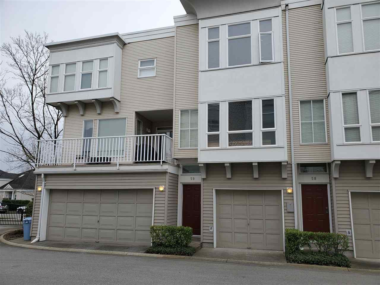 Main Photo: 59 12331 MCNEELY Drive in Richmond: East Cambie Townhouse for sale : MLS®# R2412756