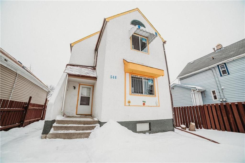 Main Photo: 546 Magnus Avenue in Winnipeg: North End Residential for sale (4A)  : MLS®# 202102165