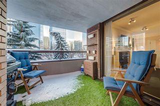 Photo 24: 302C 500 EAU CLAIRE Avenue SW in Calgary: Eau Claire Apartment for sale : MLS®# C4215554