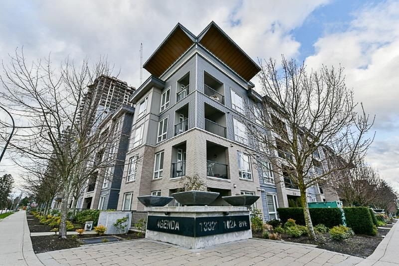 "Main Photo: 331 13321 102A Avenue in Surrey: Whalley Condo for sale in ""Agenda"" (North Surrey)  : MLS®# R2256303"