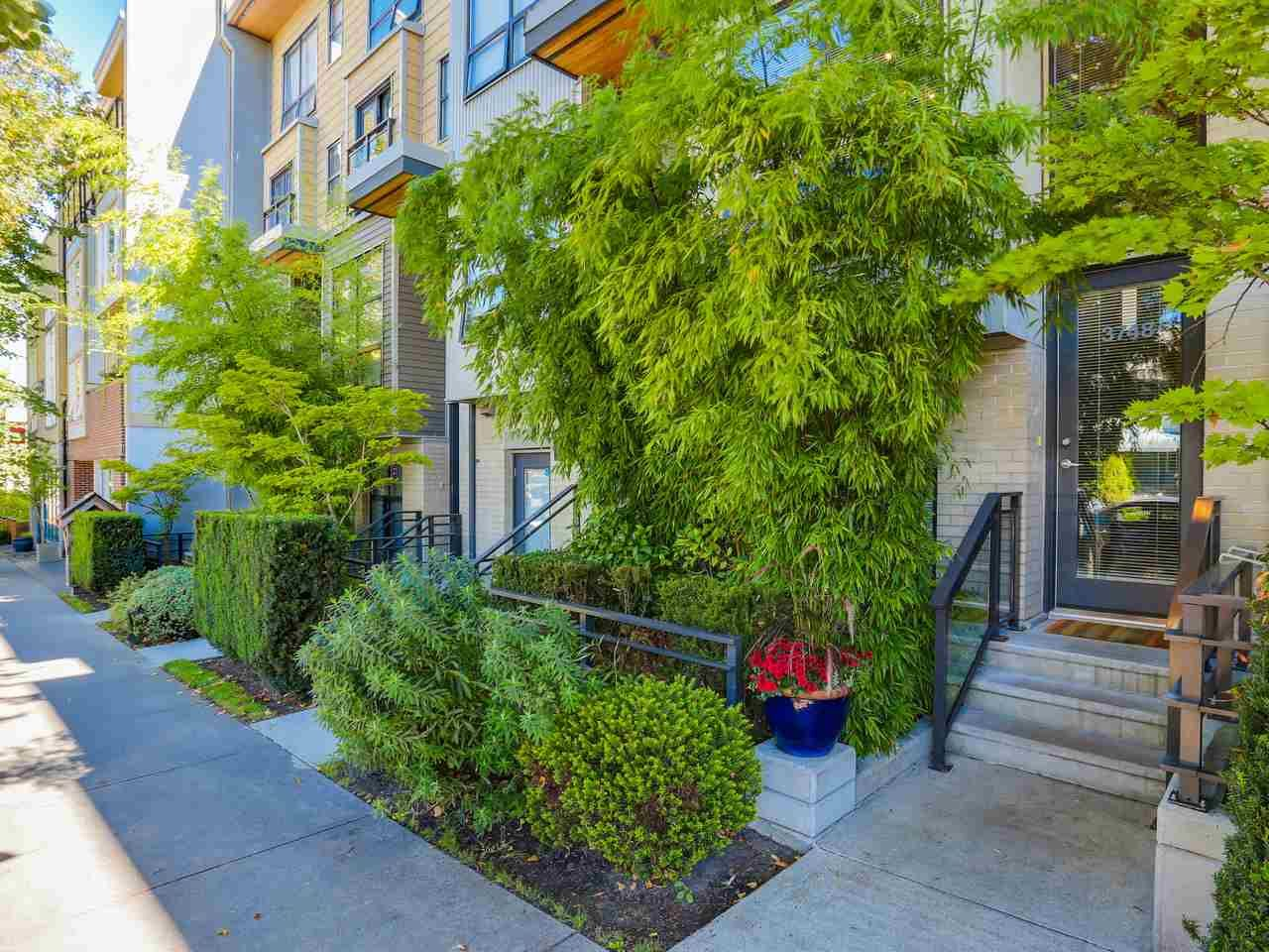 """Main Photo: 3748 COMMERCIAL Street in Vancouver: Victoria VE Townhouse for sale in """"BRIX 1"""" (Vancouver East)  : MLS®# R2107827"""