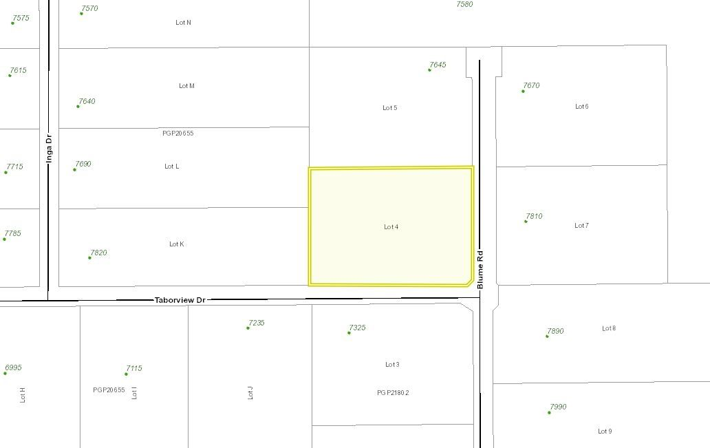 "Main Photo: LOT 4 BLUME Road in Prince George: Pineview Land for sale in ""PINEVIEW"" (PG Rural South (Zone 78))  : MLS®# R2538608"