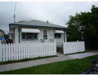 Photo 1: 491 MAGNUS Avenue in WINNIPEG: North End Residential for sale (North West Winnipeg)  : MLS®# 2913486