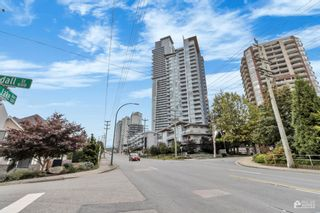"""Photo 1: 906 520 COMO LAKE Avenue in Coquitlam: Coquitlam West Condo for sale in """"THE CROWN"""" : MLS®# R2623201"""