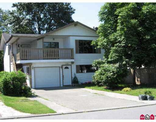 Main Photo: 32548 ORIOLE in Abbotsford: Abbotsford West House for sale : MLS®# F2717960