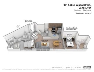 """Photo 19: 412 2055 YUKON Street in Vancouver: False Creek Condo for sale in """"Montreux"""" (Vancouver West)  : MLS®# R2588587"""