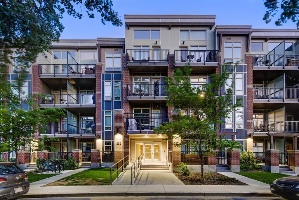 Main Photo: 103 323 20 Avenue SW in Calgary: Mission Apartment for sale : MLS®# A1090428