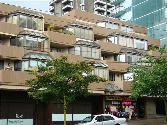 """Main Photo: 304 1455 ROBSON Street in Vancouver: West End VW Condo for sale in """"THE COLONNADE"""" (Vancouver West)  : MLS®# V970531"""
