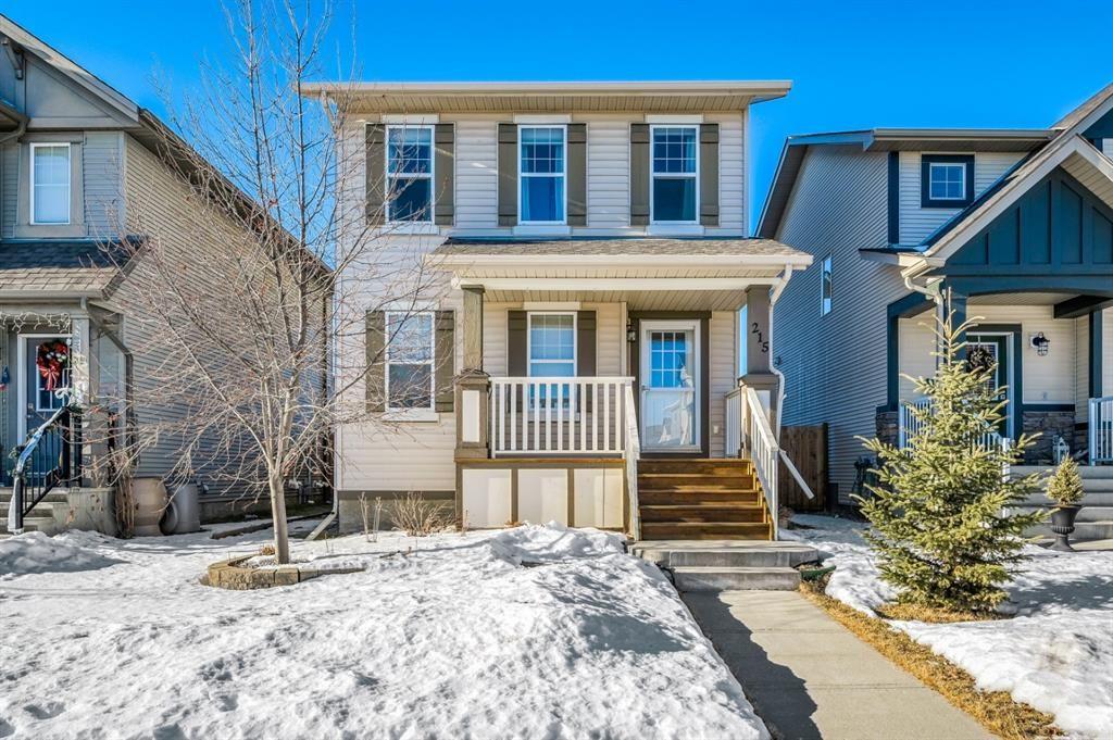 Main Photo: 215 Silverado Plains Close SW in Calgary: Silverado Detached for sale : MLS®# A1062465