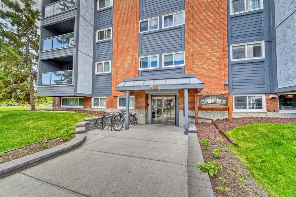 Main Photo: 407 611 8 Avenue NE in Calgary: Renfrew Apartment for sale : MLS®# A1121904