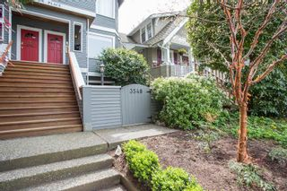 """Photo 1: 3548 POINT GREY Road in Vancouver: Kitsilano Townhouse for sale in """"MARINA PLACE"""" (Vancouver West)  : MLS®# R2576104"""