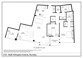 Photo 22: 618 6028 WILLINGDON Avenue in Burnaby: Metrotown Condo for sale (Burnaby South)  : MLS®# R2610955
