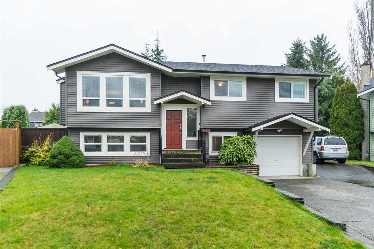 Main Photo: 26832 ALDER Drive in Langley: Aldergrove Langley House for sale : MLS®# R2421514