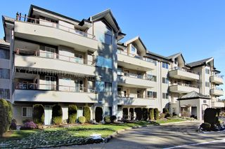 Photo 1: 304 2526 LAKEVIEW Crescent in Abbotsford: Central Abbotsford Condo for sale : MLS®# R2337653