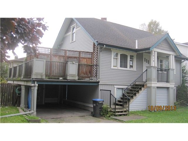 """Main Photo: 1910 MCLEAN AV in Port Coquitlam: Central Pt Coquitlam House for sale in """"MARY HILL"""" : MLS®# V1014250"""