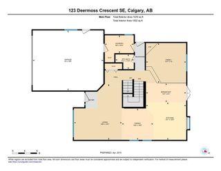 Photo 47: 123 DEERMOSS Crescent SE in Calgary: Deer Run Detached for sale : MLS®# C4287185