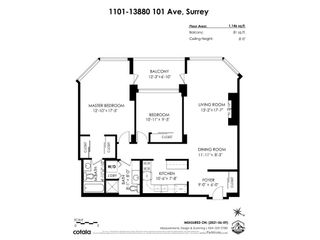 "Photo 33: 1101 13880 101 Avenue in Surrey: Whalley Condo for sale in ""The Odyssey"" (North Surrey)  : MLS®# R2591393"