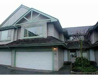 Photo 1: 18 1255 RIVERSIDE Drive in Port_Coquitlam: Riverwood Townhouse for sale (Port Coquitlam)  : MLS®# V681558