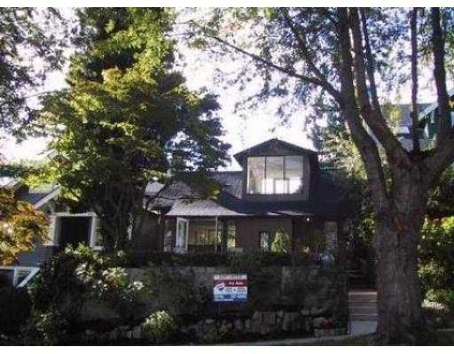 Main Photo: 3814 W 11TH AV in Vancouver: Point Grey House for sale (Vancouver West)  : MLS®# V602248
