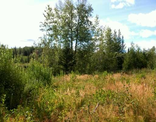 Main Photo: CHIEF LAKE RD in Prince George: Chief Lake Road Land for sale (PG Rural North (Zone 76))  : MLS®# N166508
