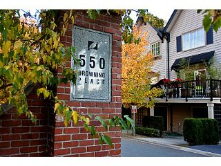 Photo 1: # 23 550 BROWNING PL in North Vancouver: Seymour Townhouse for sale : MLS®# V1009270