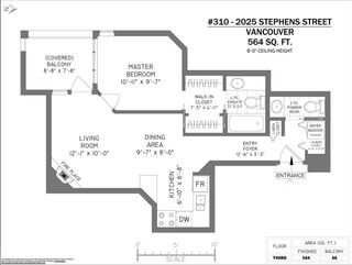 Photo 17: 310 2025 STEPHENS Street in Vancouver: Kitsilano Condo for sale (Vancouver West)  : MLS®# R2603527