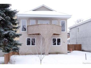 Photo 1: 46 Dundurn Place in WINNIPEG: West End / Wolseley Residential for sale (West Winnipeg)  : MLS®# 1502643