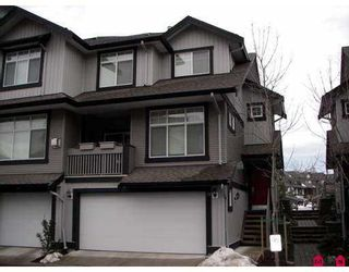 "Photo 1: 18839 69TH Avenue in SURREY: Clayton Townhouse for sale in ""STARPOINT II"" (Cloverdale)  : MLS®# F2626999"